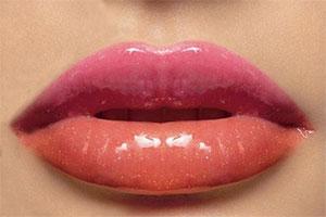 как увеличить губы без операции.
